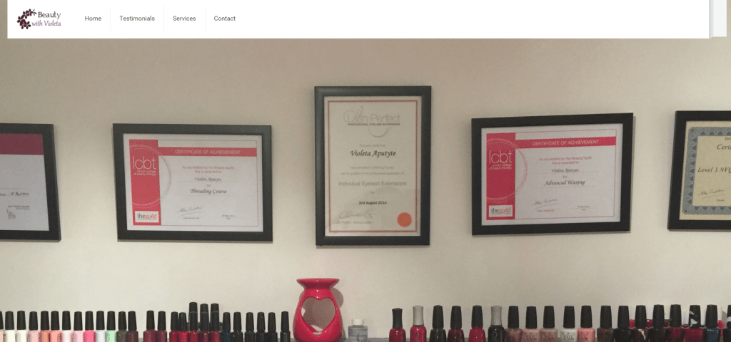 Beauty Therapist London