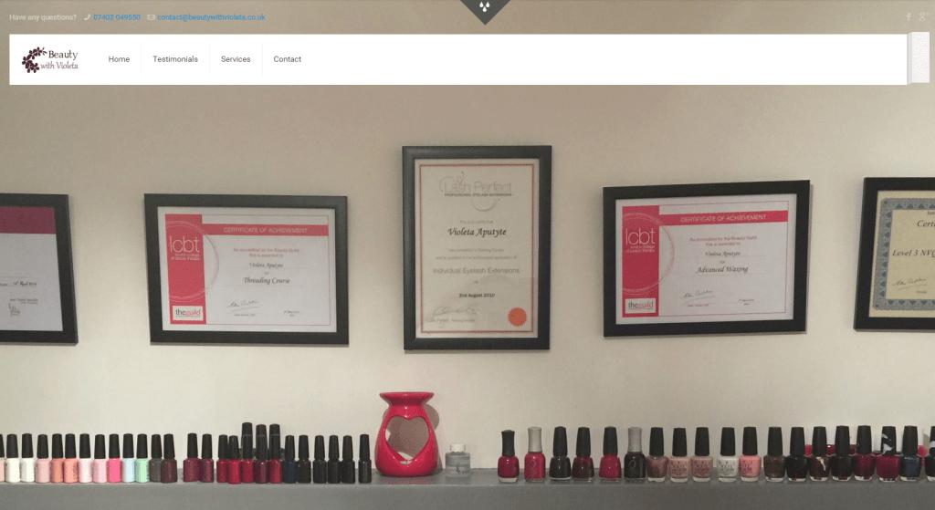 Beauty Therapist London
