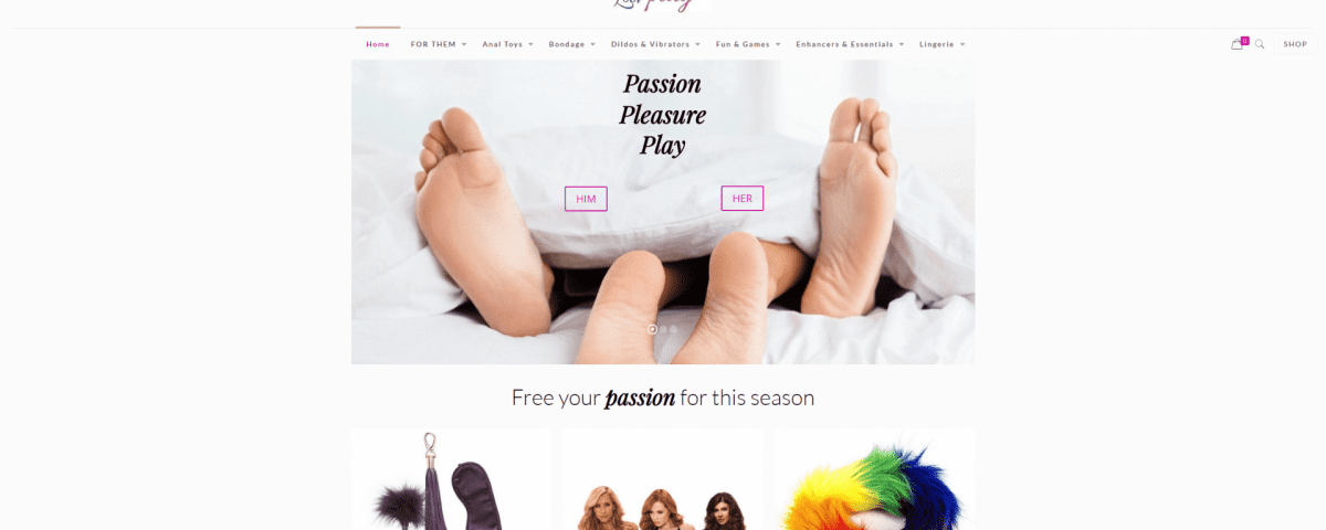 Luvplay sex toys shop