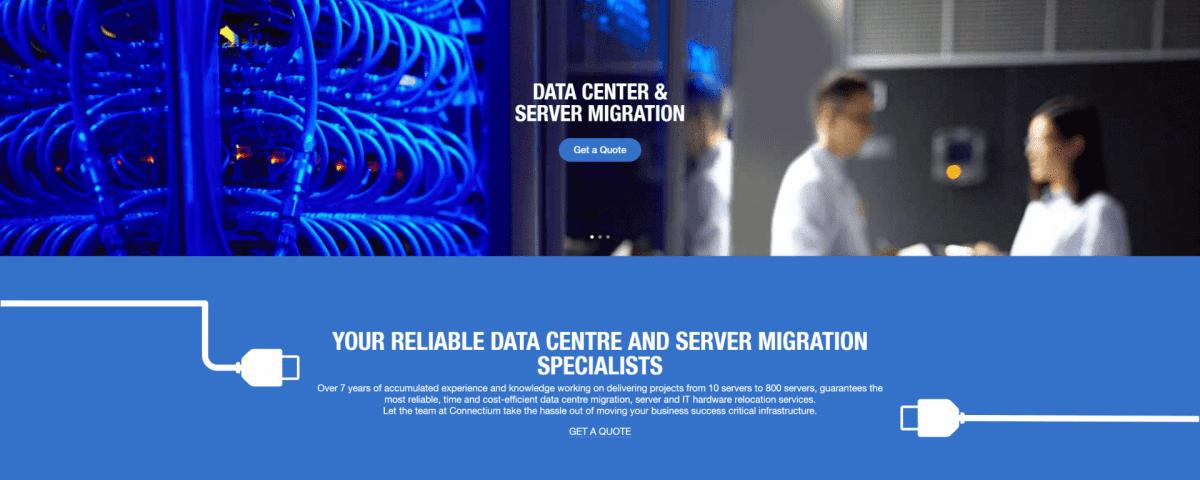 Server relocation connectium