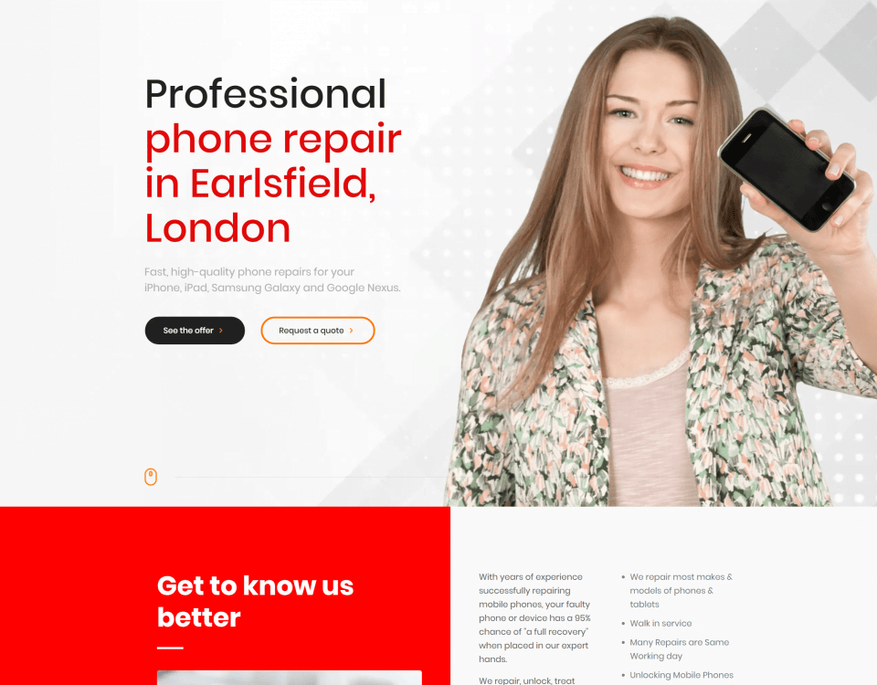 LoveRepair - Phone Repair Earlsfield 1